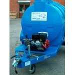 2500Ltr Water Bowser with Engine Driven Pressure Washer