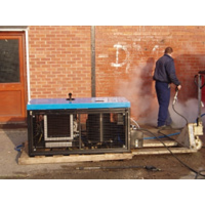 Skid Mounted Jetter For Graffiti Removal