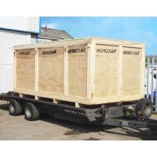 Crating and Shipping Binwash Machine (Export)