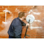 Rotary Cleaning Head for removal of Graffiti