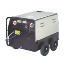 Mobile Hot Water Pressure Washer with Stainless Steel Cover