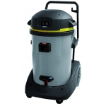 Pro Range 77 3-P is a wet and dry vacuum cleaner with a tilting tank for easy emptying.