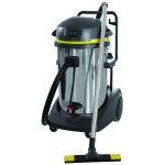 Pro Range 78 3-55 is a 3 silenced two stage motor, stainless steel wet and dry vacuum cleaner