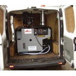 Van Pack Machine and Water Tank