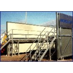 Wash Screen and Gantry for UK Civil Contractors